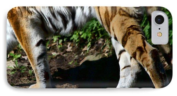 A Tigers Stride Phone Case by Karol Livote