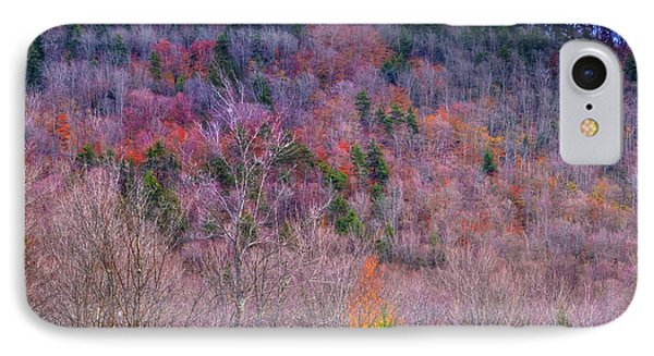 IPhone 7 Case featuring the photograph A Touch Of Autumn by David Patterson