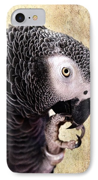 IPhone Case featuring the photograph A Touch Of Grey by Betty LaRue