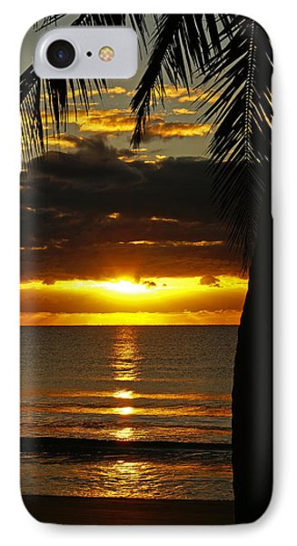 A Touch Of Paradise IPhone Case by Holly Kempe