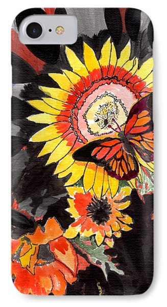 A Touch Of Summer IPhone Case by Connie Valasco