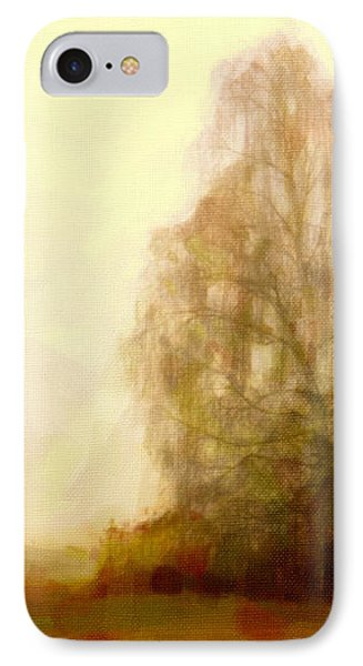 IPhone Case featuring the painting A Tree by Chris Armytage