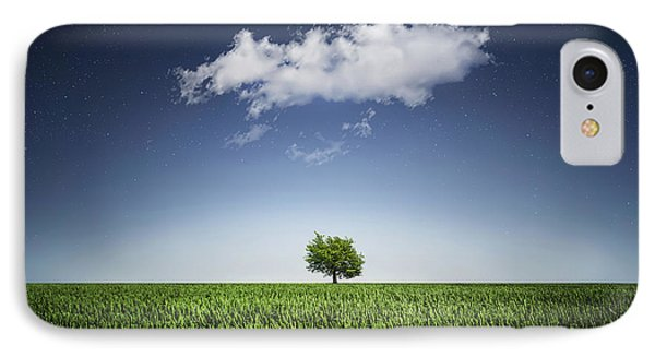 A Tree Covered With Cloud IPhone Case by Bess Hamiti