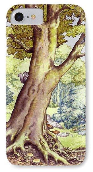 A Tree Full Of Wildlife IPhone Case