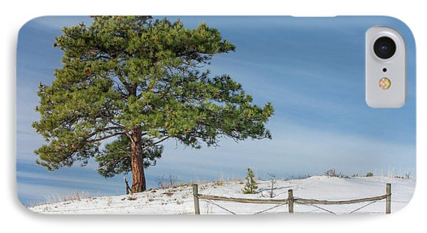 A Tree Warms IPhone Case by Todd Klassy
