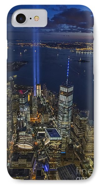 A Tribute In Lights IPhone Case