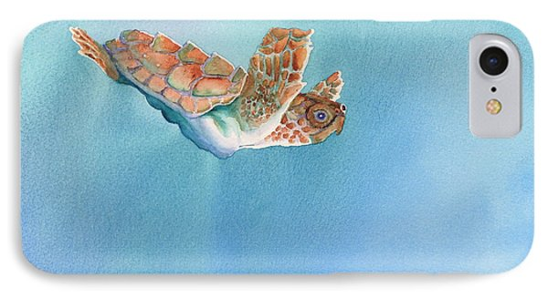 A Turtles Flight Phone Case by Tracy L Teeter