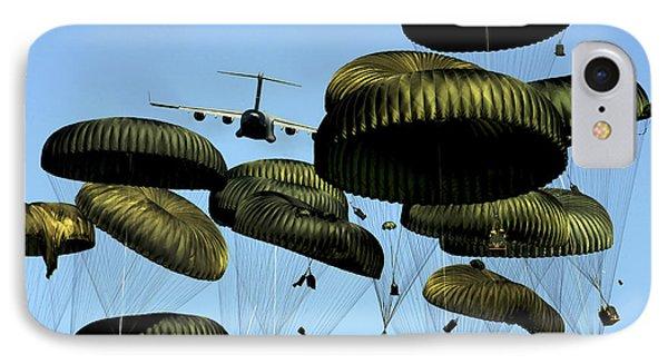 A U.s. Air Force C-17 Globemaster IIi Phone Case by Stocktrek Images