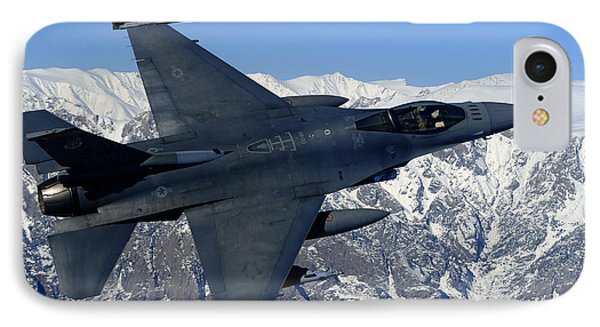 A U.s. Air Force F-16 Fighting Falcon Phone Case by Stocktrek Images