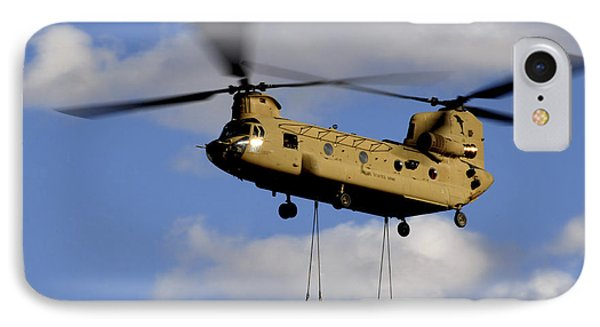 A U.s. Army Ch-47 Chinook Helicopter Phone Case by Stocktrek Images