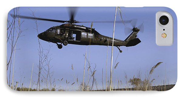 A U.s. Army Uh-60 Black Hawk Helicopter Phone Case by Stocktrek Images