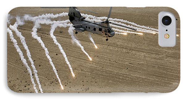 A U.s. Marine Corps Ch-46 Sea Knight Phone Case by Stocktrek Images