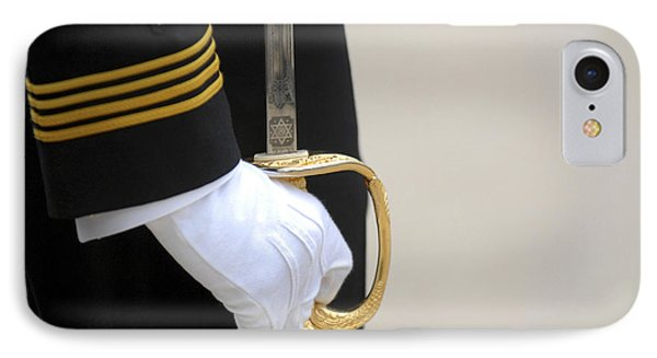 A U.s. Naval Academy Midshipman Stands Phone Case by Stocktrek Images