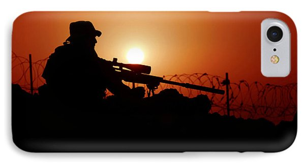 A U.s. Special Forces Soldier Armed Phone Case by Stocktrek Images
