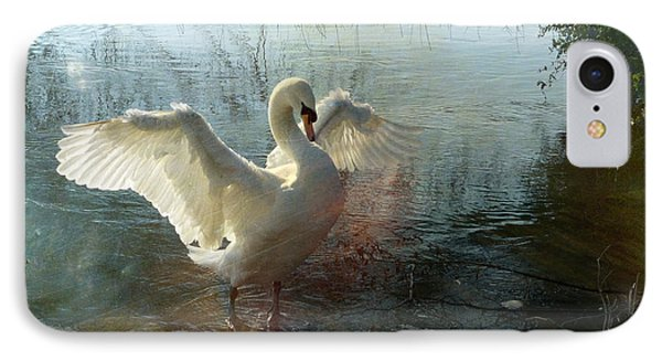 IPhone Case featuring the photograph A Very Fine Swan Indeed by LemonArt Photography