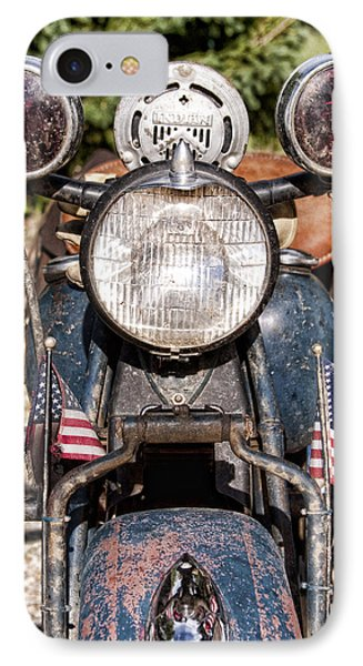 A Very Old Indian Harley-davidson IPhone 7 Case