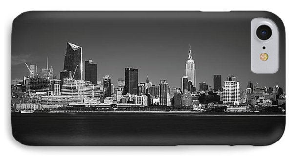 IPhone Case featuring the photograph A View From Across The Hudson by Eduard Moldoveanu