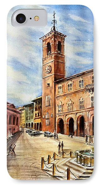 A View From Fabriano IPhone Case