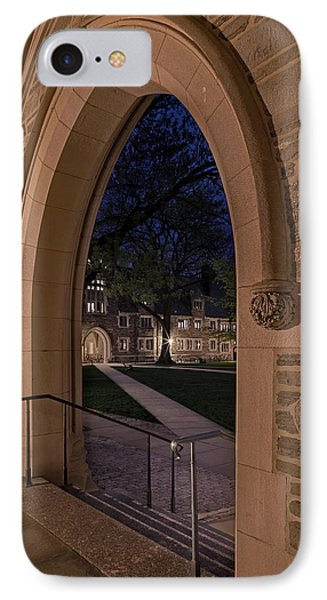 A View From Holder Hall Princeton University IPhone Case by Susan Candelario