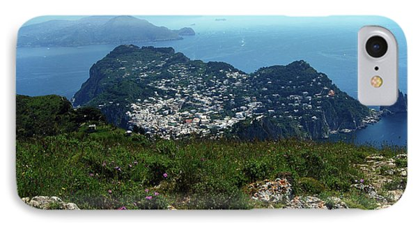 A View From Monte Solaro IPhone Case