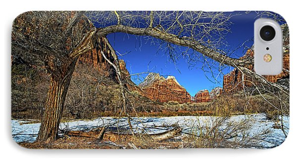 A View In Zion Phone Case by Christopher Holmes