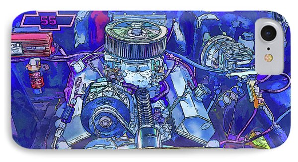 A View Of A Motor Car Engine IPhone Case by Lanjee Chee