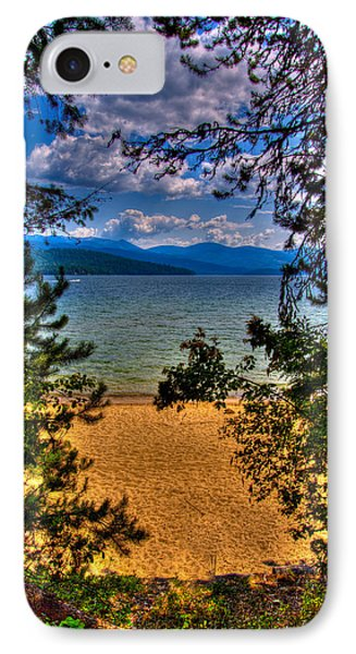 A View Of The Lake Phone Case by David Patterson