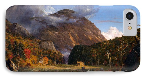A View Of The Mountain Pass Called The Notch Of The White Mountans  IPhone Case by Thomas Cole