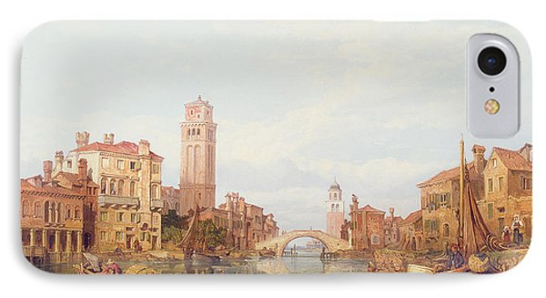 A View Of Verona Phone Case by George Clarkson Stanfield