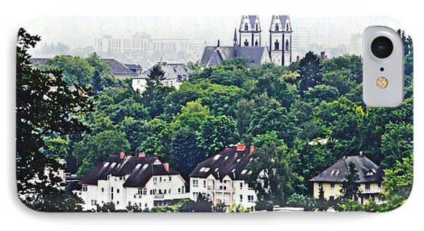 A View Of Wiesbaden IPhone Case by Sarah Loft
