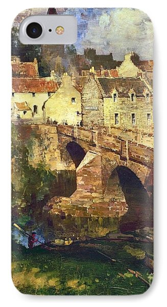 A Village In East Linton IPhone Case