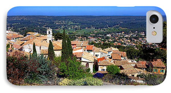 IPhone Case featuring the photograph A Village In Provence by Olivier Le Queinec
