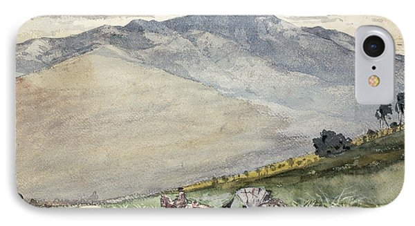 A Volante On A Mountain Road Cuba IPhone Case by Winslow Homer