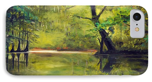 A Waccamaw Evening Phone Case by Phil Burton