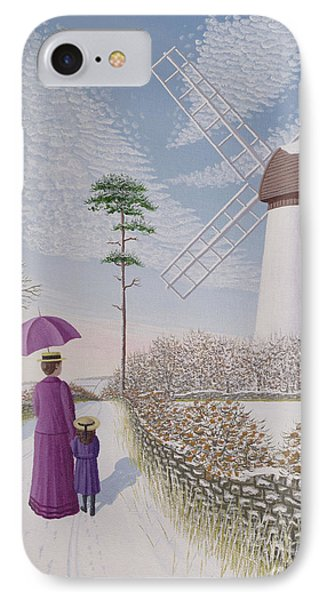A Walk By The Mill IPhone Case by Peter Szumowski