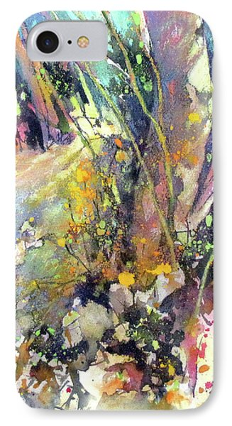 A Walk In The Forest Phone Case by Rae Andrews