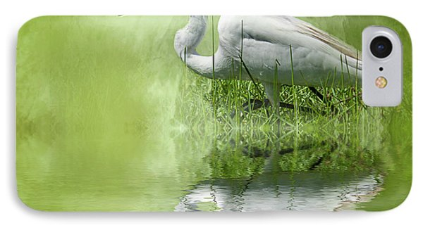A Walk In The Marsh IPhone Case by Cyndy Doty