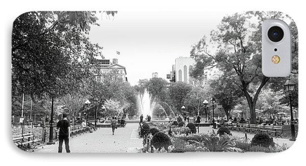 IPhone Case featuring the photograph A Walk In The Park by Ana V Ramirez