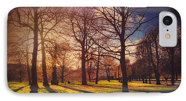 A Walk In The Park IPhone Case by Carol Japp