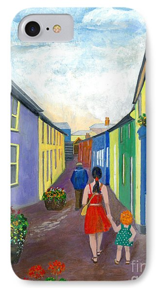 A Walk On The Bright Side IPhone Case by Veronica Rickard