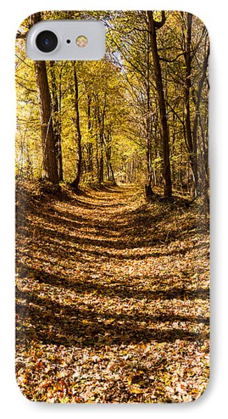 A Walk On The Old Trace - Natchez Trace IPhone Case