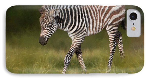 A Walk On The Wild Side IPhone Case by Donna Kennedy