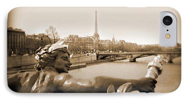 A Walk Through Paris 7 Phone Case by Mike McGlothlen