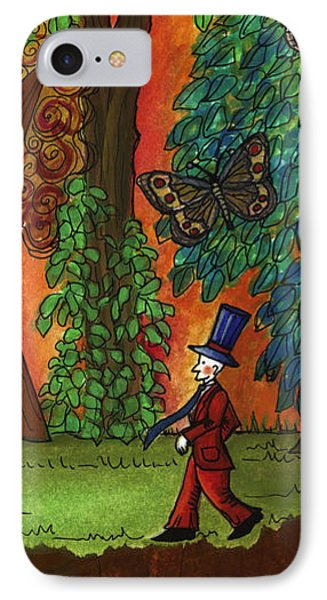 A Walk Through The Forest IPhone Case by Graciela Bello