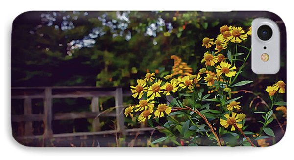 IPhone Case featuring the photograph A Walk With Wildflowers by Jessica Brawley