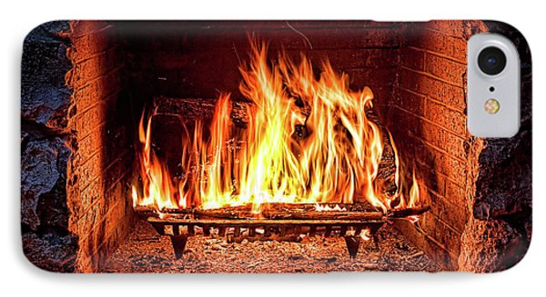 A Warm Hearth IPhone Case by Christopher Holmes