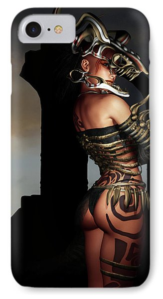 A Warrior Stands Alone IPhone Case
