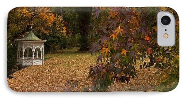 A Washington Crossing Autumn IPhone Case by Elsa Marie Santoro