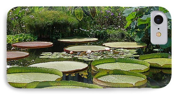 IPhone Case featuring the photograph A Water Garden by Byron Varvarigos