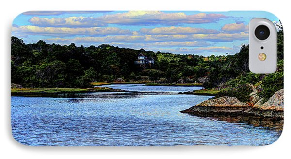 IPhone Case featuring the photograph A Water View Newport Ri by Tom Prendergast